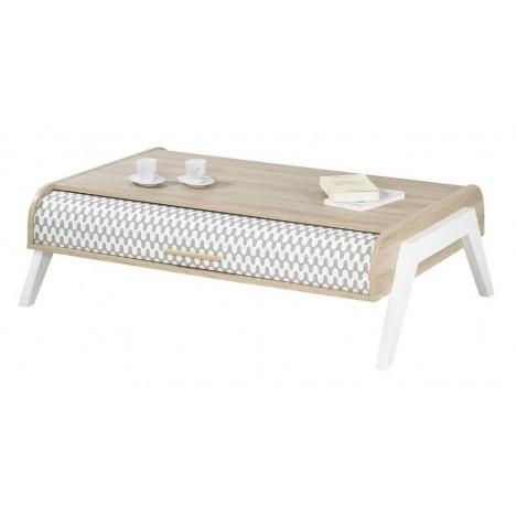 table basse bois clair. Black Bedroom Furniture Sets. Home Design Ideas