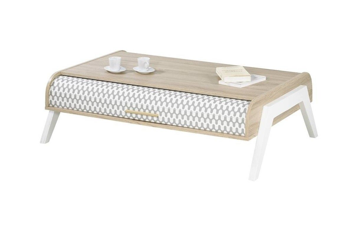 Table Basse Avec Rangement Decome Store # Table Basse Scandinave Laque