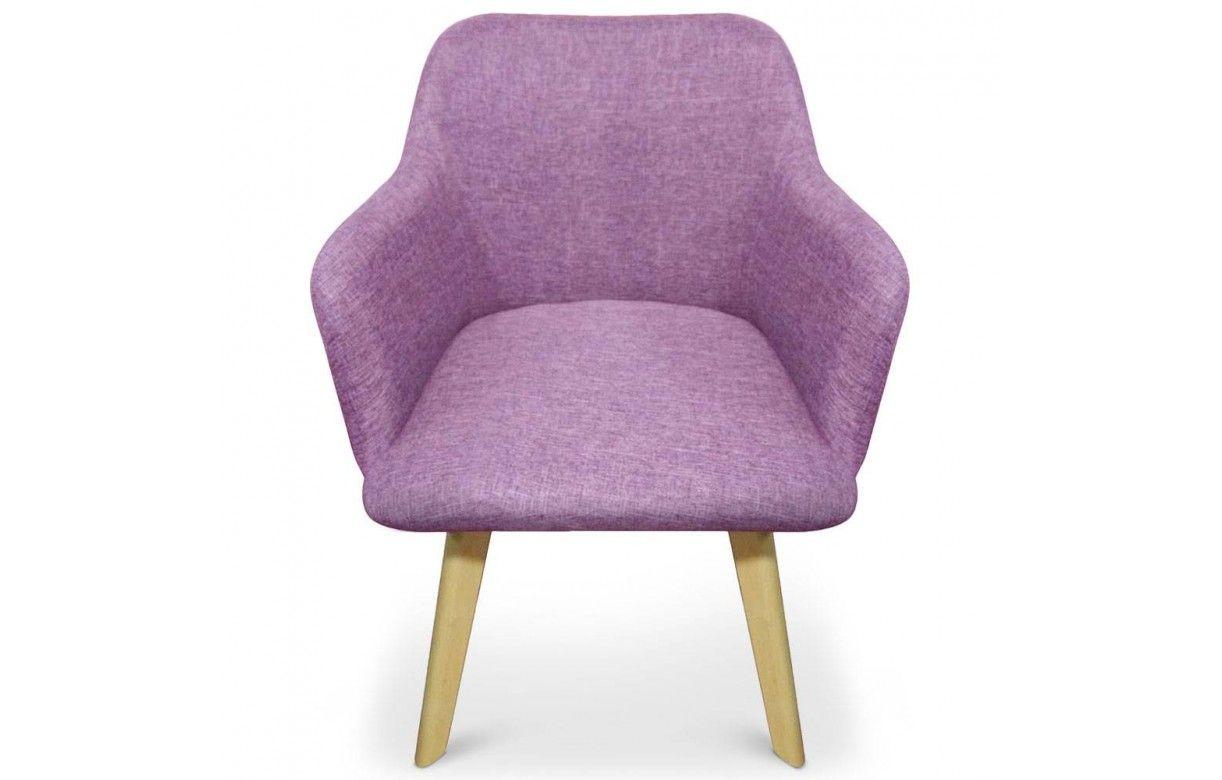 Chaise design style scandinave avec pieds en bois clair # Chaise Avec Pied En Bois