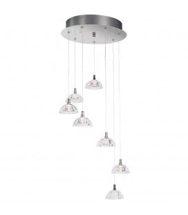 Suspension cascade design inox Calvin