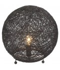 Lampe boule design fils à poser Fanya -