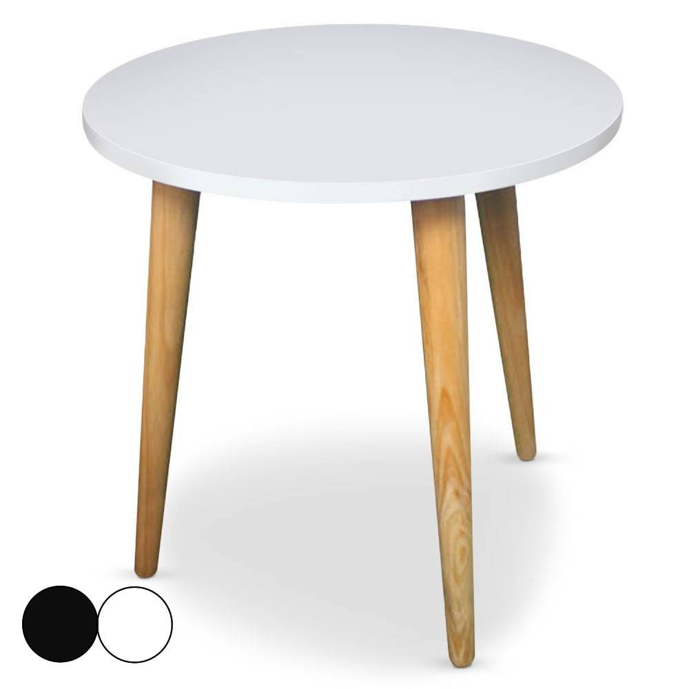 Beste Von Table Basse Scandinave Ronde Id Es De Conception De  # Table Basse Scandinave Laque