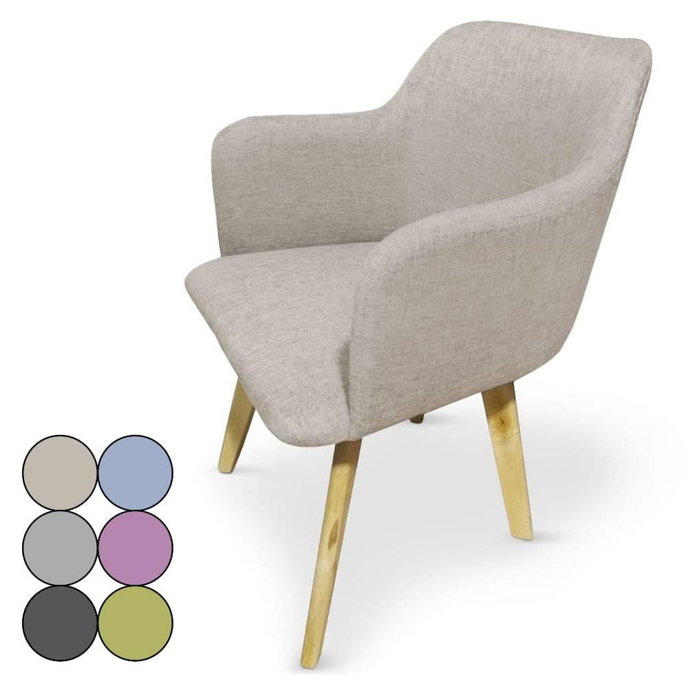 Chaise Design Style Scandinave Avec Pieds En Bois Clair Candy