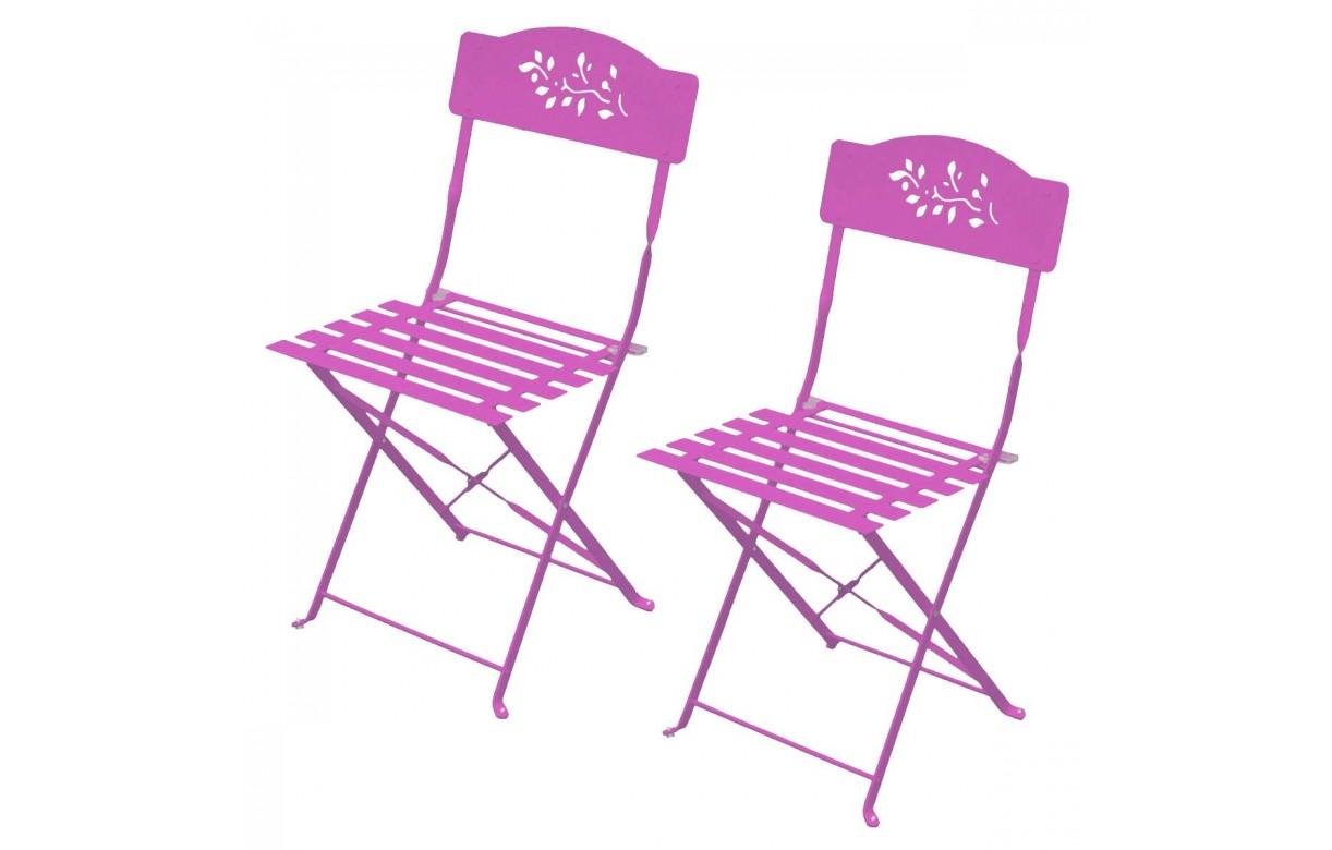 petit salon de jardin table et 4 chaises en m tal. Black Bedroom Furniture Sets. Home Design Ideas