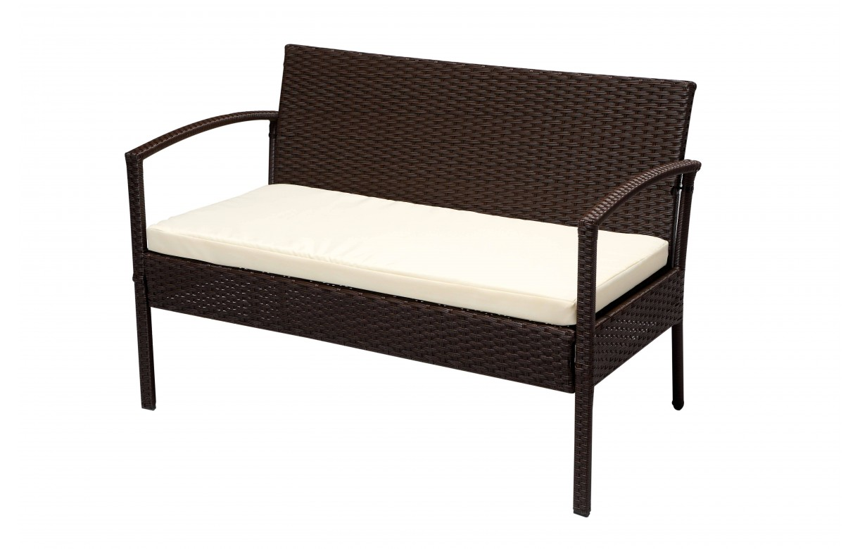 salon de jardin r sine pas cher canap 2 fauteuils 1 table basse. Black Bedroom Furniture Sets. Home Design Ideas