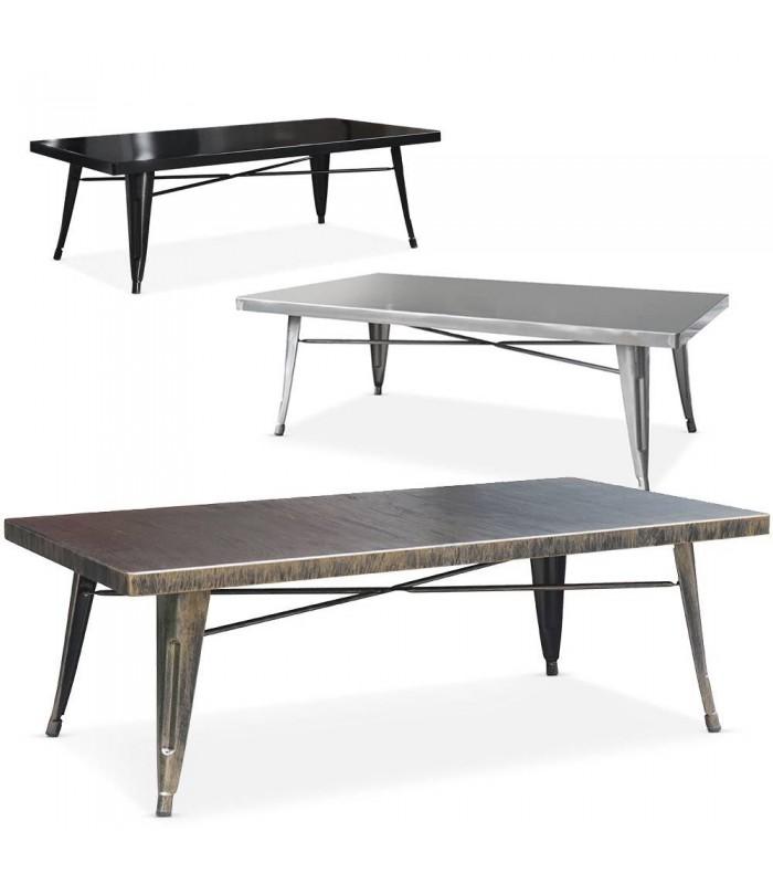table basse en m tal int rieur ext rieur. Black Bedroom Furniture Sets. Home Design Ideas