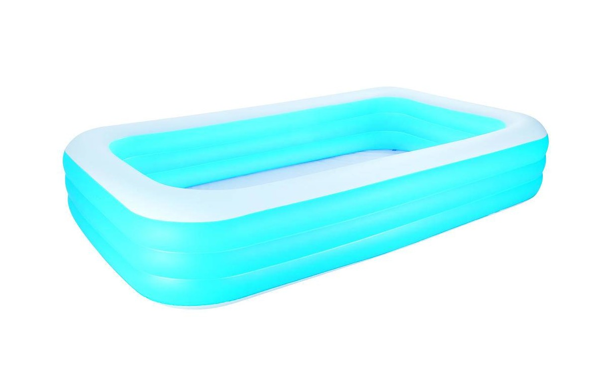 Piscine enfant gonflable bleue bestway decome store for Piscine gonflable rectangulaire