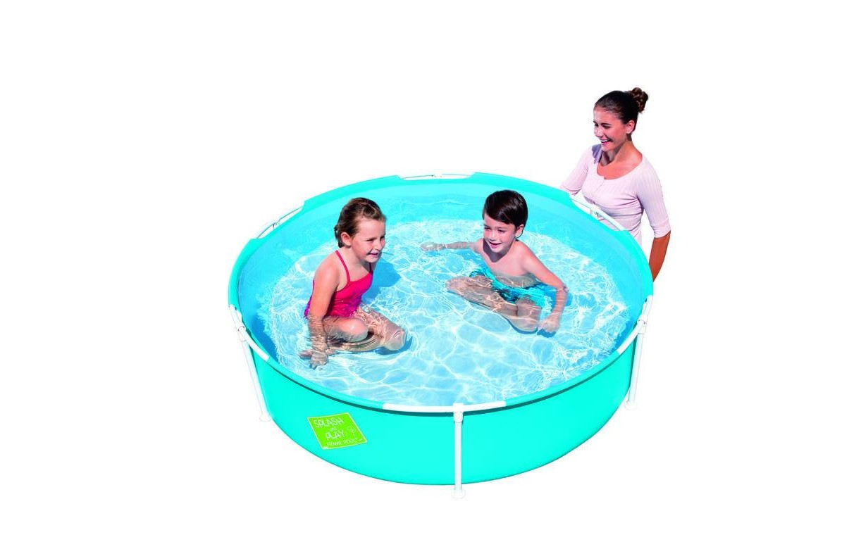 Petite piscine ronde enfant bleu bestway 56283 decome store for Calcul volume piscine ronde