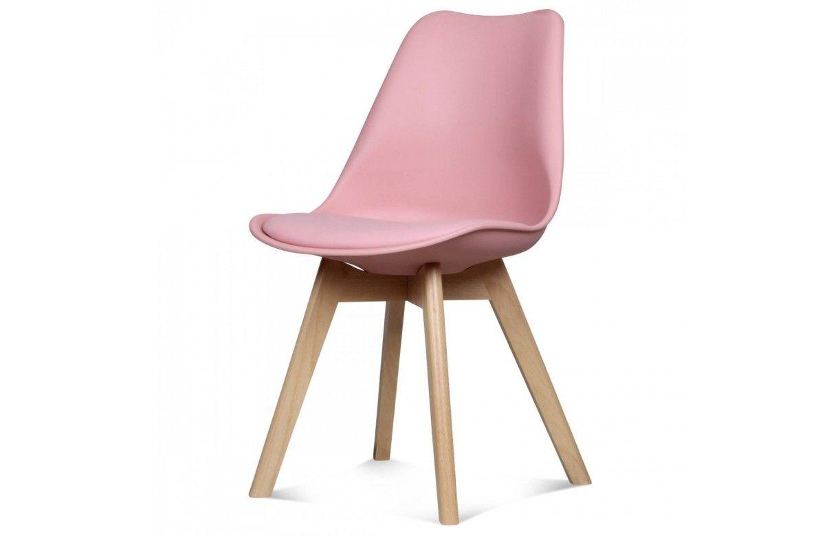 Chaise scandinave et pieds en bois scany lot de 2 - Chaise pied en bois ...