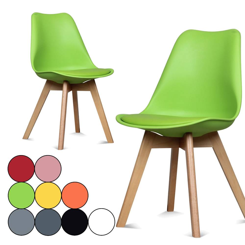 Chaise coloree for Chaises couleurs salle a manger