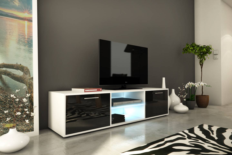 Meubles Tv Decome Store # Meuble Tv Integre Cheminee Avec Rangement