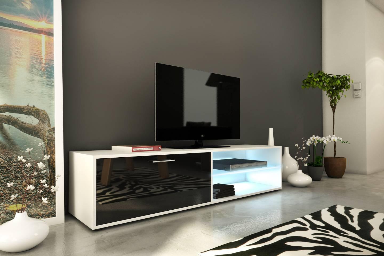 Meubles Tv Decome Store # Meuble Tv Design Rouge