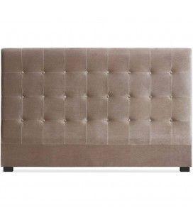 Tête de lit king size capitonnée en velours Luxy - 3 coloris