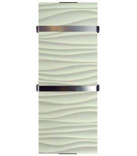 Sèche serviette design décor Vagues 1200w - H120cm