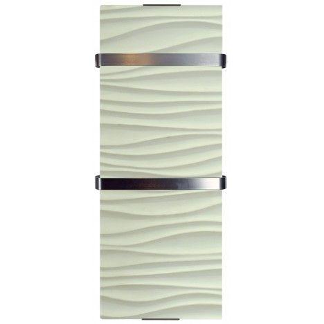 Sèche serviette design décor Vagues 1200w - H120cm -