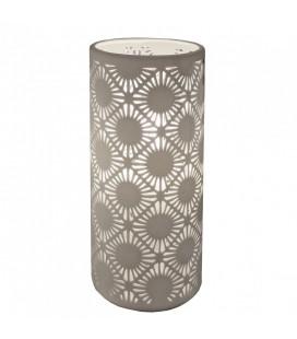 Lampe en porcelaine blanche Nordik 24 cm -