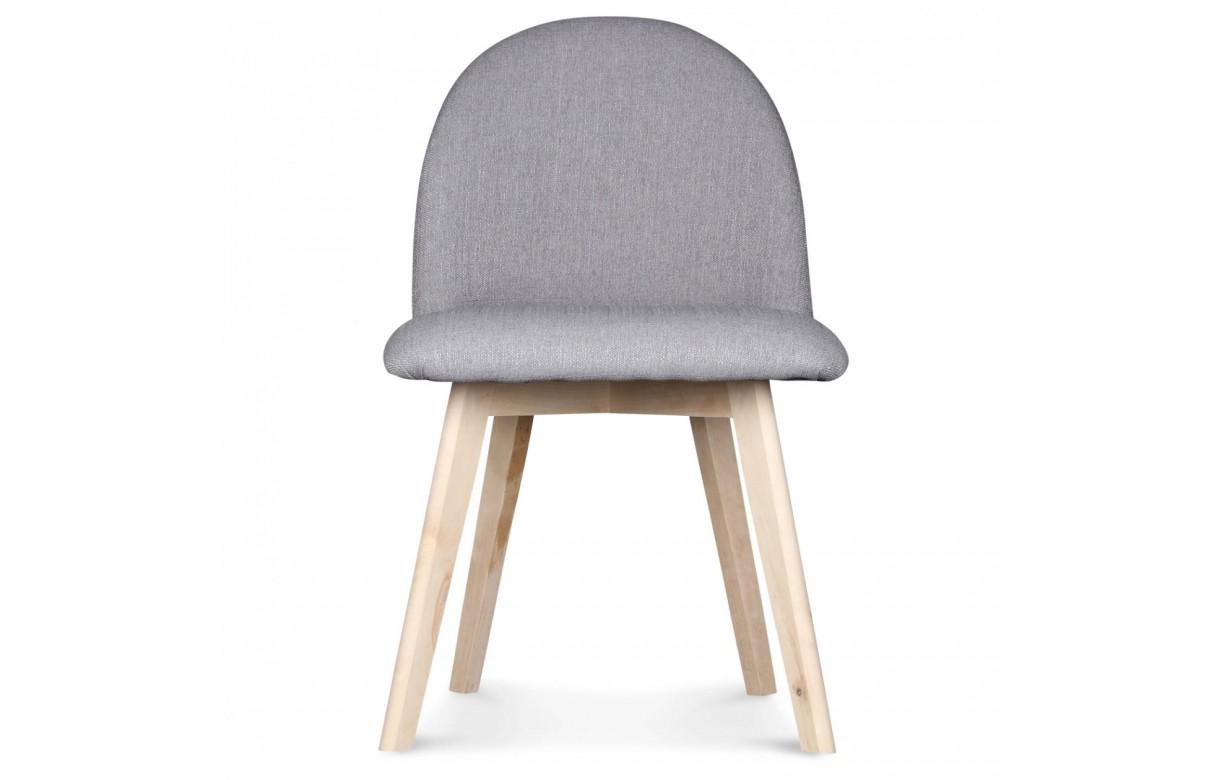 Chaise scandinave pastel avec pieds en bois Ivar # Chaise Avec Pied En Bois