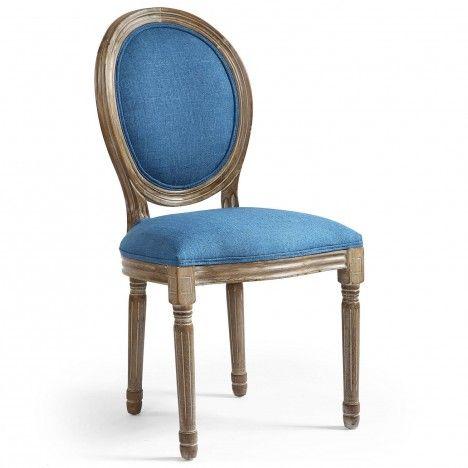 Chaise médaillon Louisa - Lot de 2 -