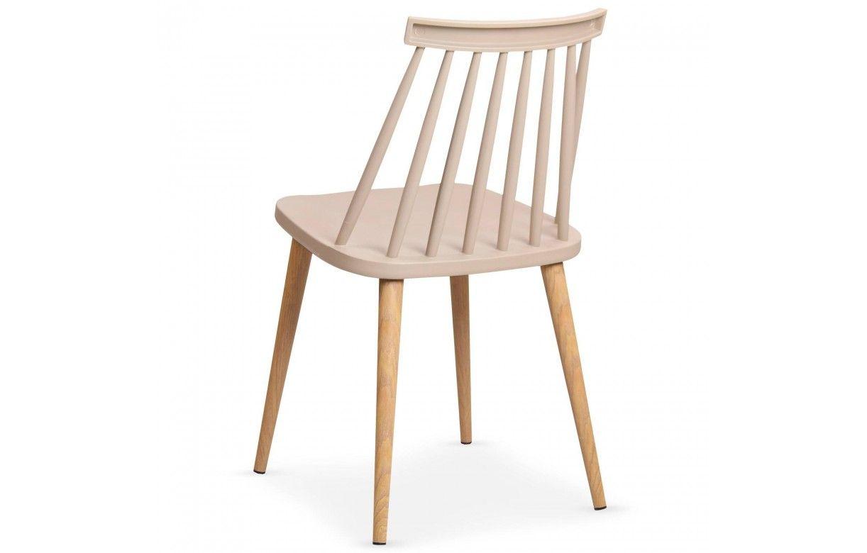 lot de 2 chaises style bistrot scandinave 5 coloris. Black Bedroom Furniture Sets. Home Design Ideas