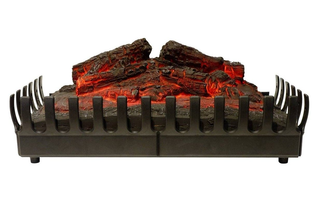 foyer de chemin e lectrique imitation feu de bois b ches. Black Bedroom Furniture Sets. Home Design Ideas