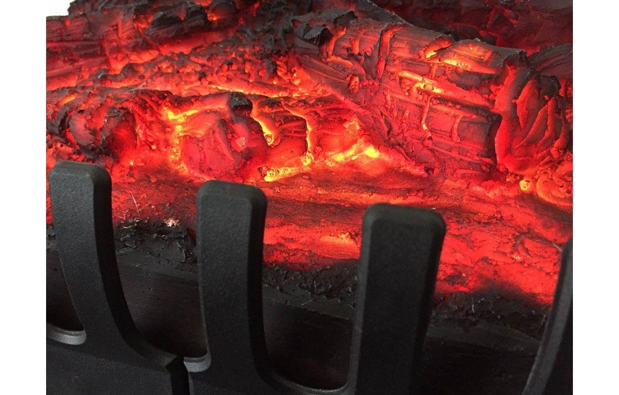 Foyer Electrique Design W Effet Flammes : Foyer de cheminée électrique feu bois flammes