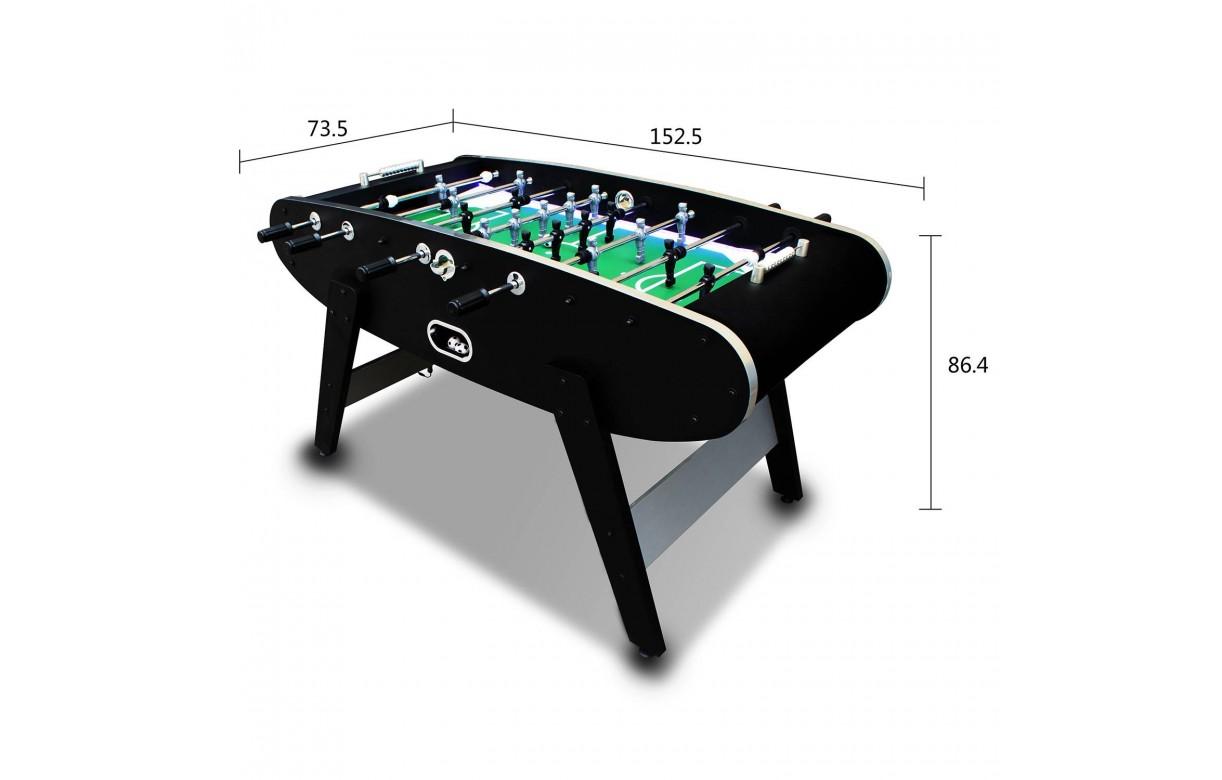baby foot noir design avec bandes led. Black Bedroom Furniture Sets. Home Design Ideas