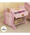 Chevet table de nuit rose Princesse 76124 -
