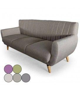 Canapé scandinave en tissu 3 places Mirabo