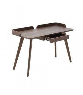 Bureau design haut de gamme en bois 1 tiroir Bea