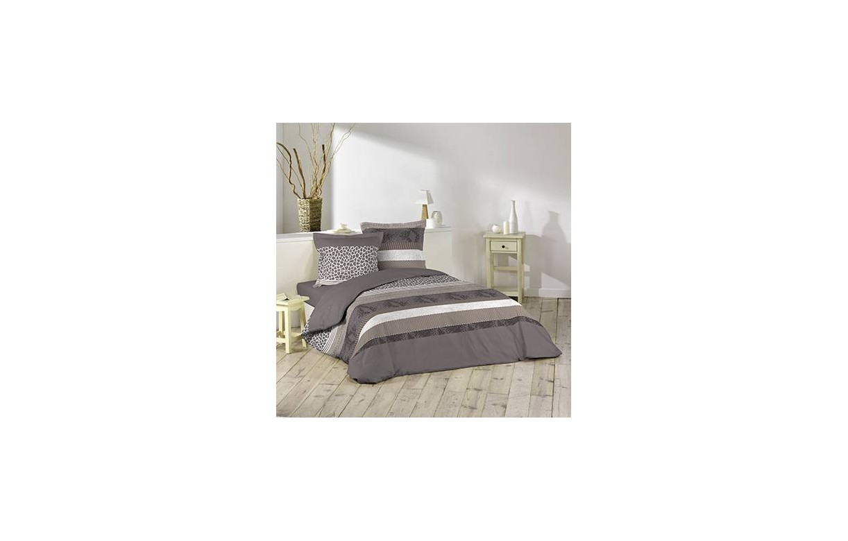 housse de couette 240 x 260 cm 2 taies serpentine decome store. Black Bedroom Furniture Sets. Home Design Ideas