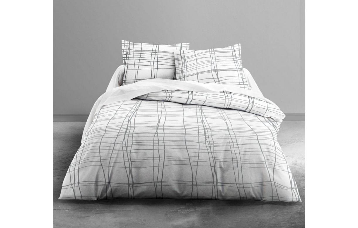 housse de couette 220 x 240 cm 2 taies ficell decome store. Black Bedroom Furniture Sets. Home Design Ideas