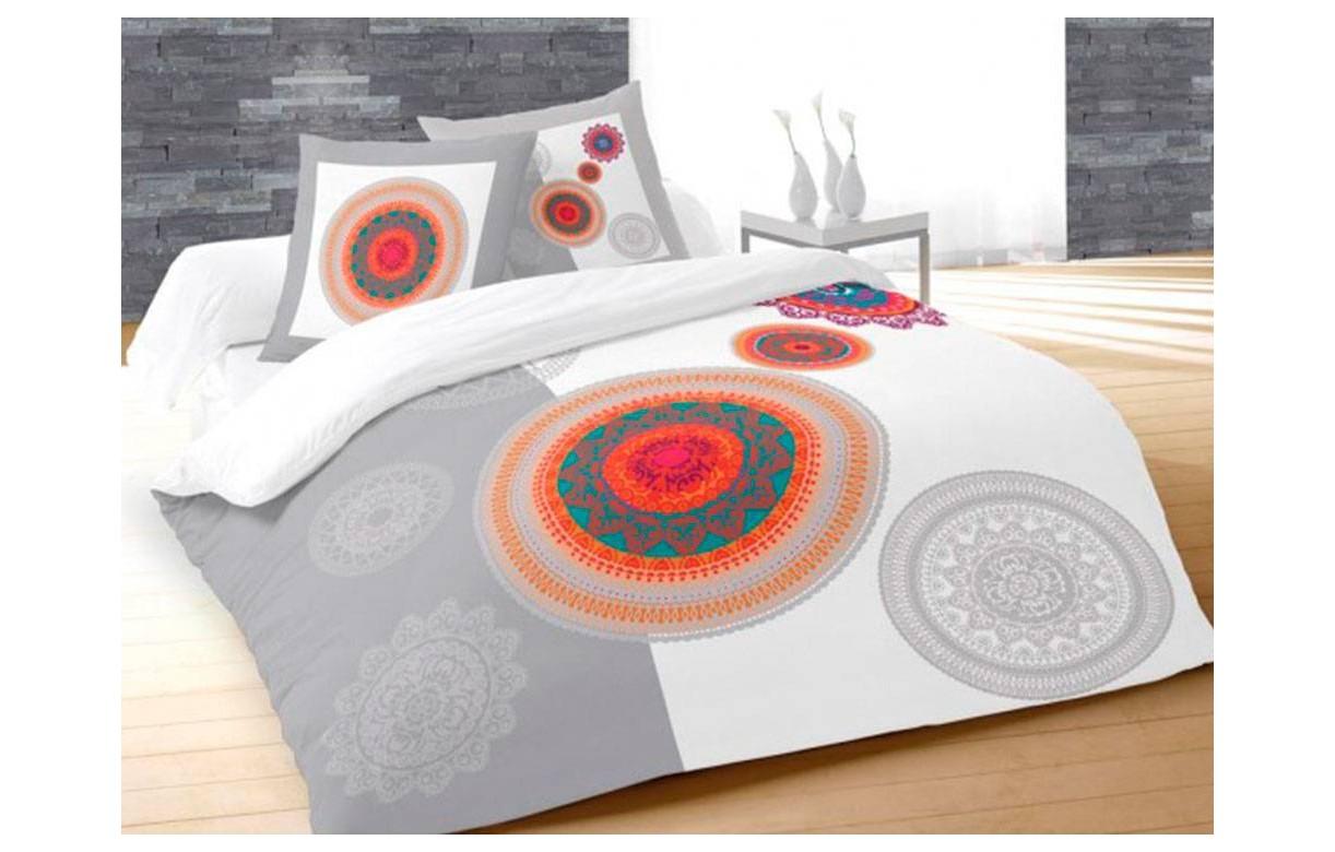 housse de couette 220 x 240 cm 2 taies fantasy decome. Black Bedroom Furniture Sets. Home Design Ideas