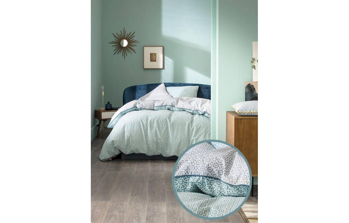 housse de couette 220 x 240 cm 2 taies louikos decome. Black Bedroom Furniture Sets. Home Design Ideas