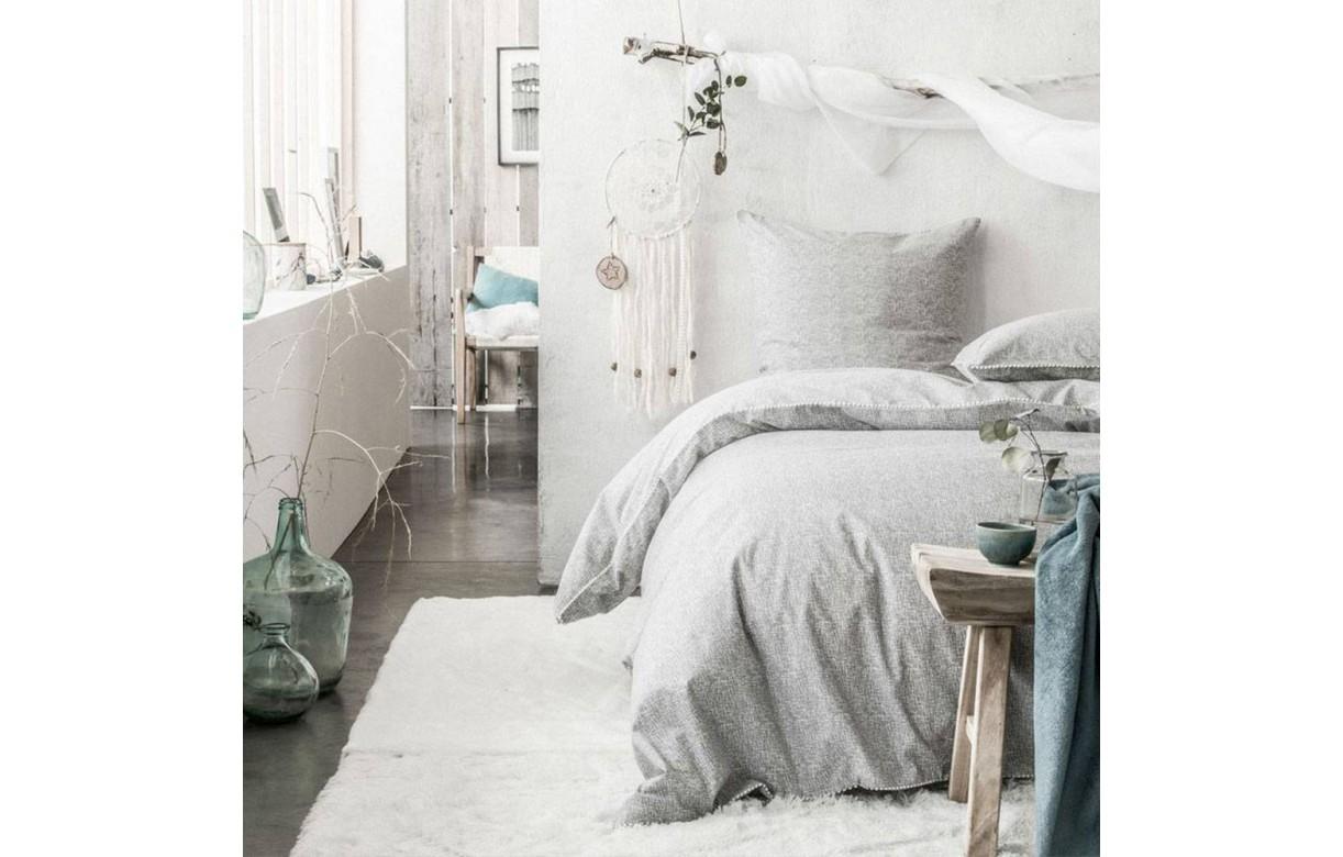 housse de couette 220 x 240 cm 2 taies nina decome store. Black Bedroom Furniture Sets. Home Design Ideas