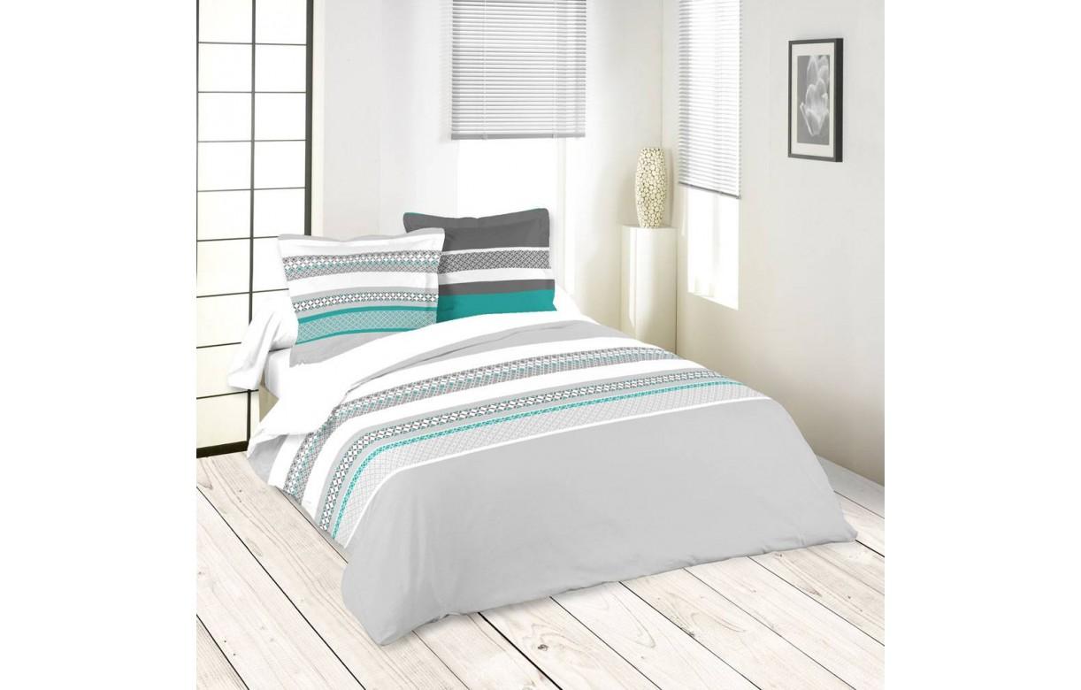 housse de couette 220 x 240 cm 2 taies variance decome store. Black Bedroom Furniture Sets. Home Design Ideas