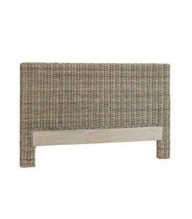 Tête de lit en rotin gris 160cm Koob