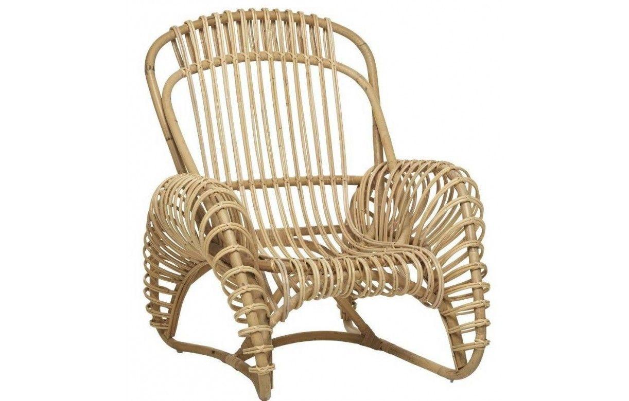 fauteuil vintage en rotin naturel louise decome store. Black Bedroom Furniture Sets. Home Design Ideas