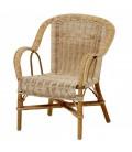 Petit fauteuil en rotin pour enfant Swan -