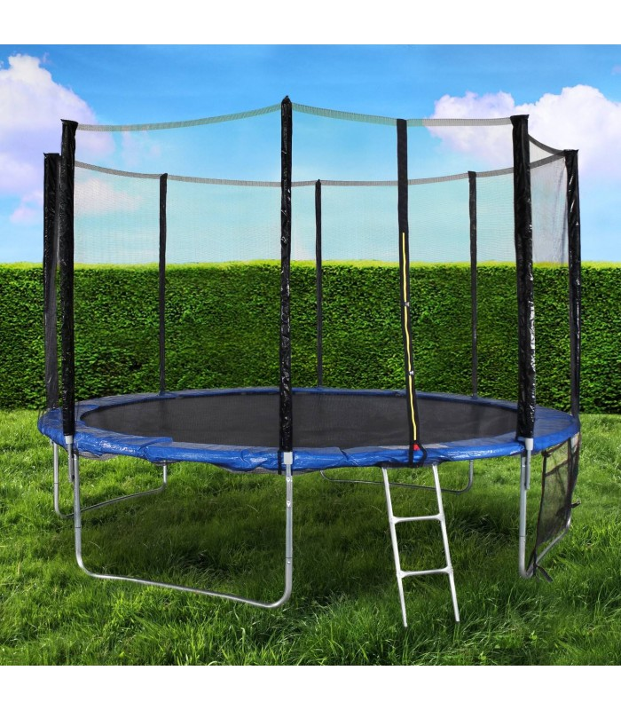 trampoline de jardin xl 366cm noir. Black Bedroom Furniture Sets. Home Design Ideas