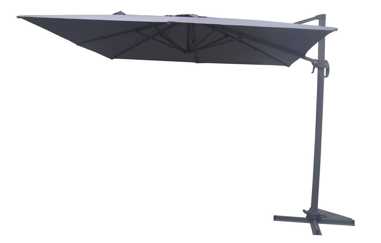parasol d port carr 3x3m en aluminium 4 coloris. Black Bedroom Furniture Sets. Home Design Ideas