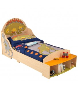 Lit pour enfant en bois déco Dinosaure Kidkraft 86938
