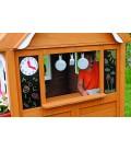 Cabane d'extérieur pour enfants en bois Kidkraft -