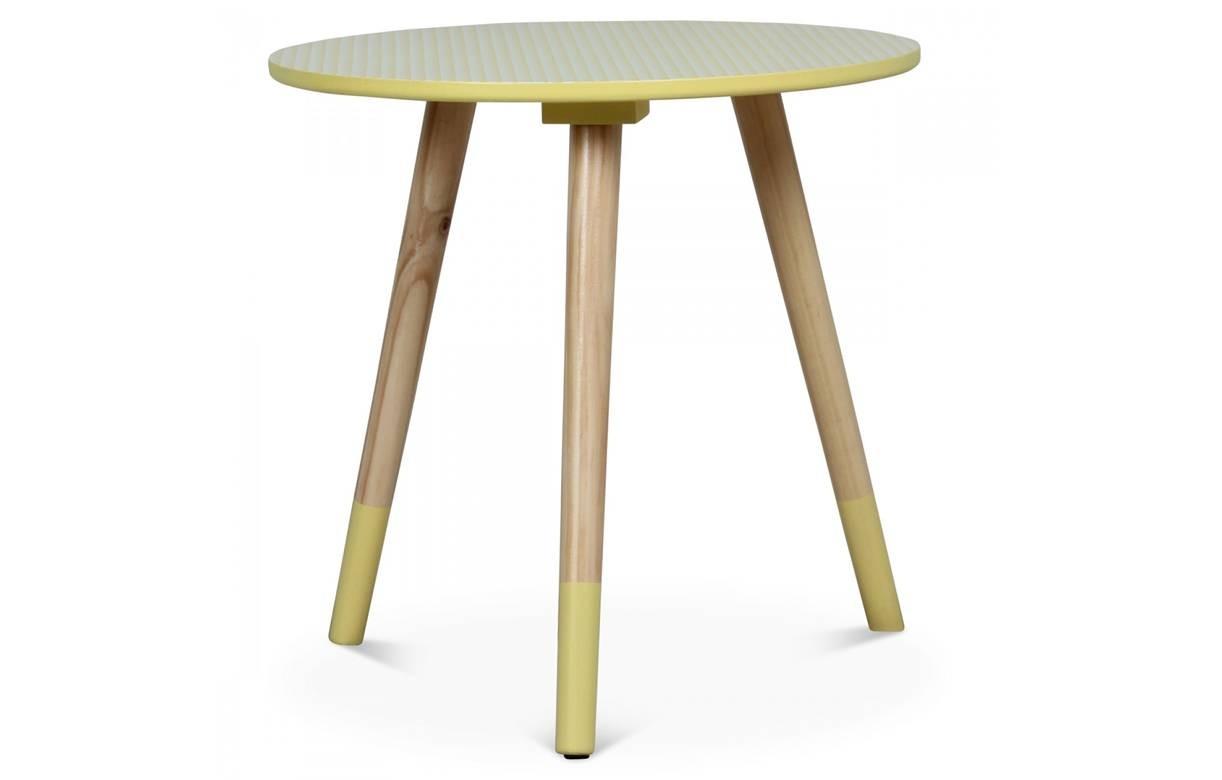 petite table basse ronde scandinave h40cm 4 coloris. Black Bedroom Furniture Sets. Home Design Ideas