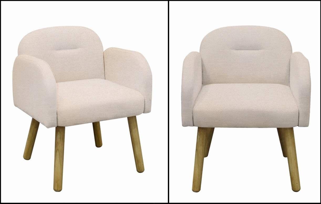 chaise fauteuil design scandinave en tissu hans - Chaise Fauteuil Scandinave