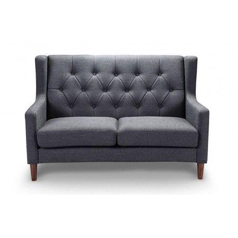 Canapé 2 places en tissu capitonné style scandinave Fairy -