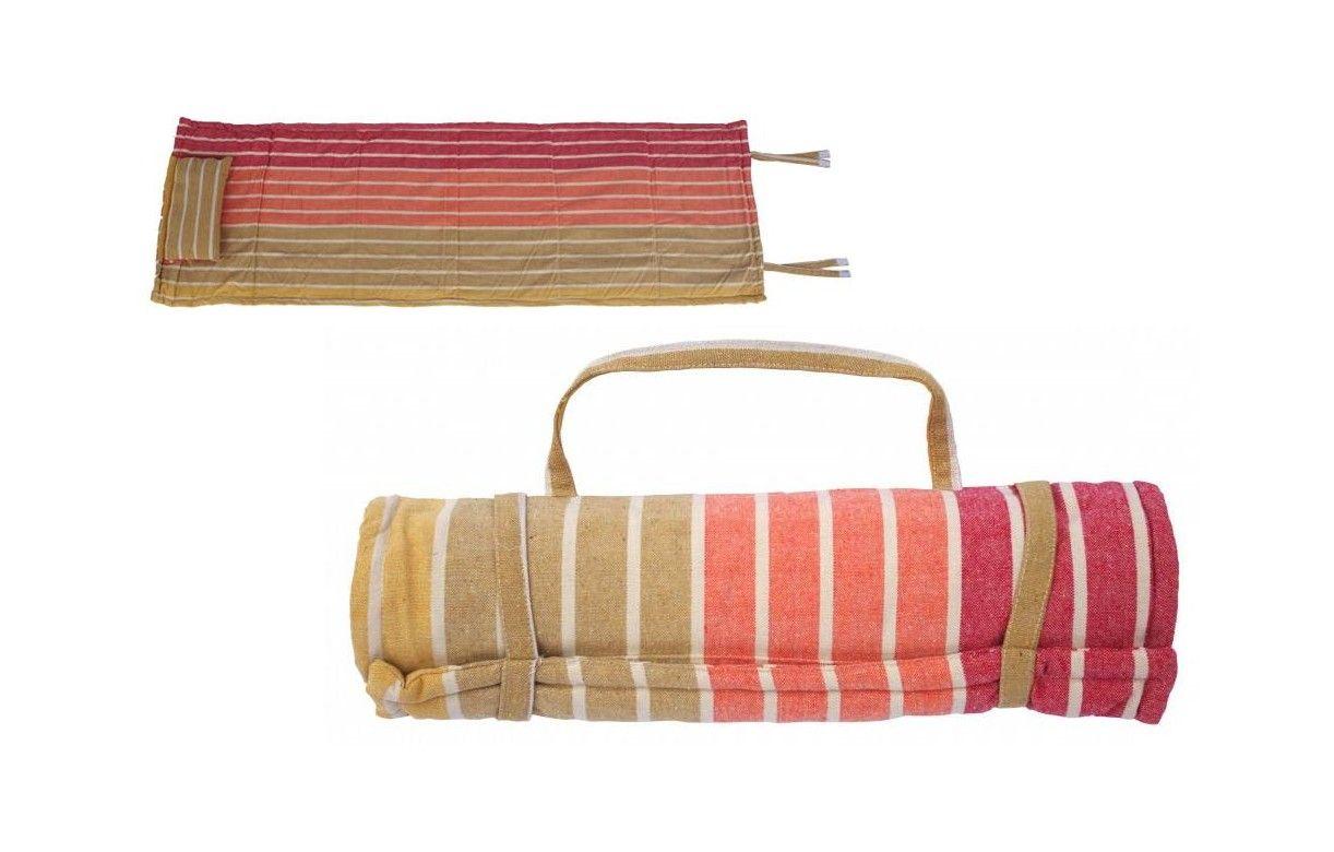 matelas ext rieur bleu transat bain de soleil enroulable. Black Bedroom Furniture Sets. Home Design Ideas