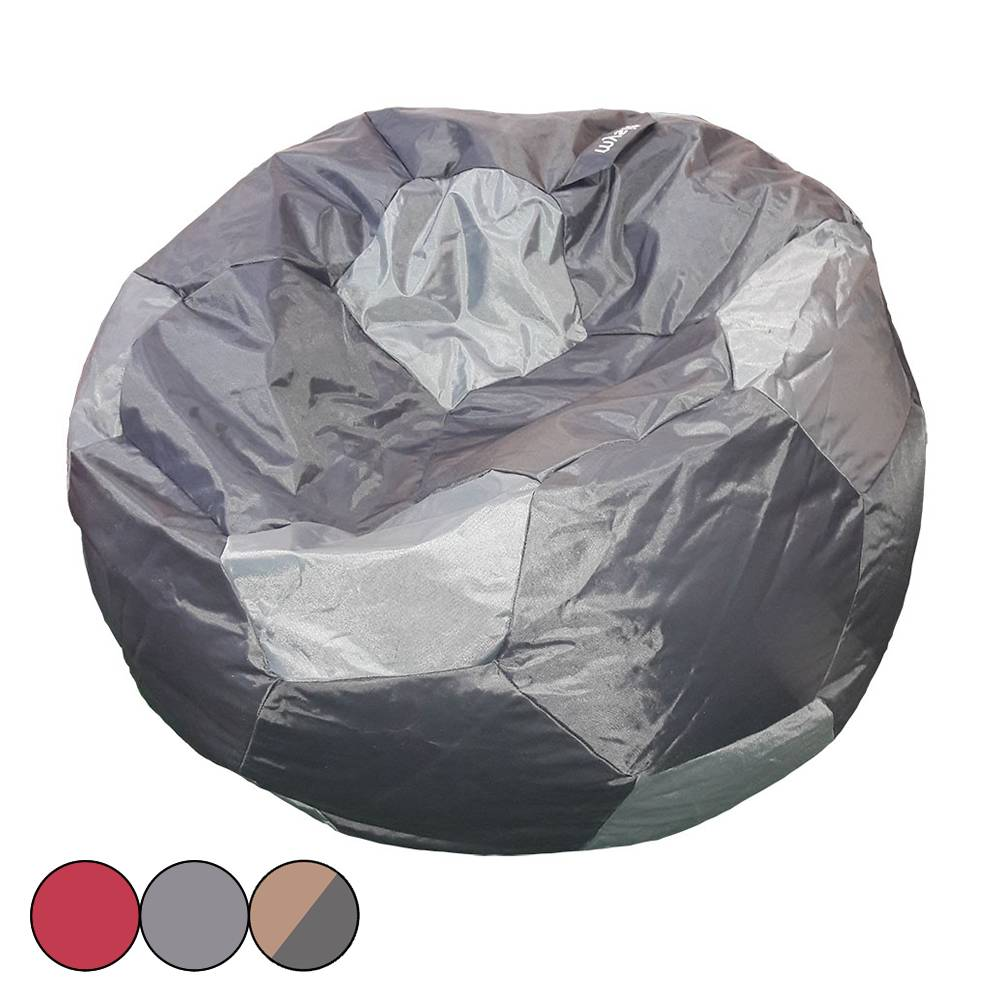 pouf interieur pouf poire intrieur extrieur polyester gris anthracite design pearbag with pouf. Black Bedroom Furniture Sets. Home Design Ideas