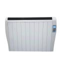 Radiateur à inertie chaleur douce 1500w ultra fin + télécommande -