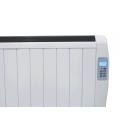 Radiateur à inertie chaleur douce 1000w ultra fin + télécommande -