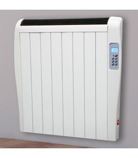 Radiateur à inertie chaleur douce 1000w ultra fin + télécommande